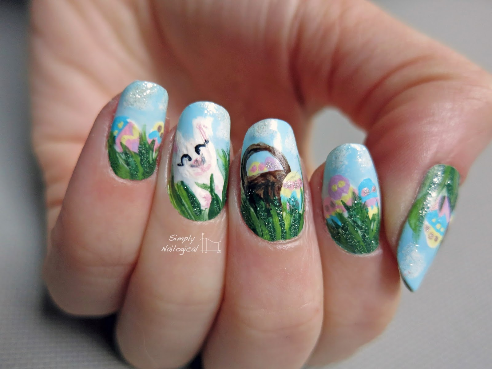 Simply Nailogical: Easter nails