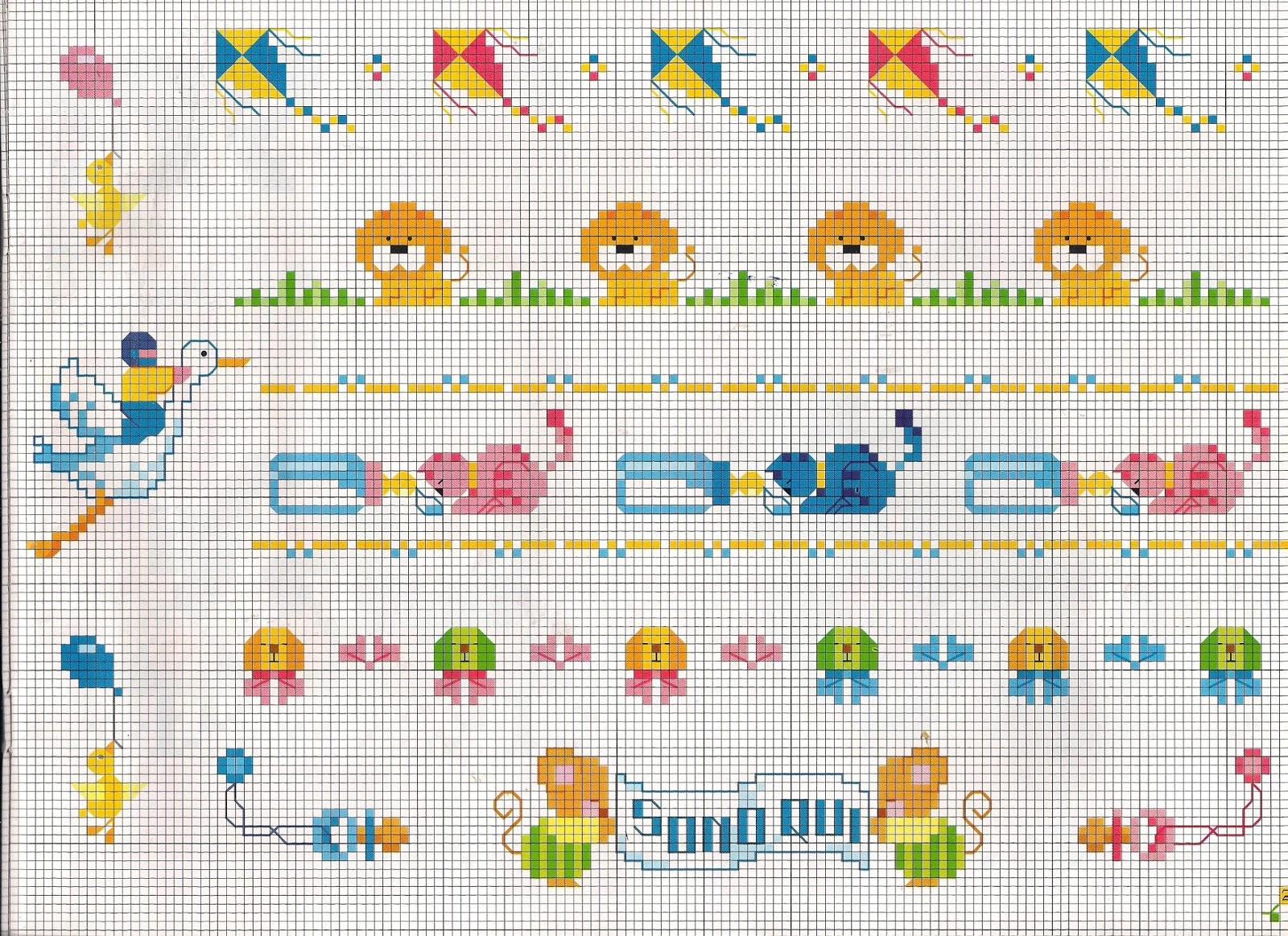 Farfalle a punto croce per bavaglini ir94 pineglen for Farfalle a punto croce per bambini