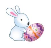 Espero que hayan tenido una feliz Pascua! I hope you had a happy Easter ! conejo