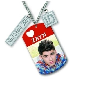 OFFICIAL 1D ONE DIRECTION ZAYN MALIK NECKLACE pendant cd fan gift present idea