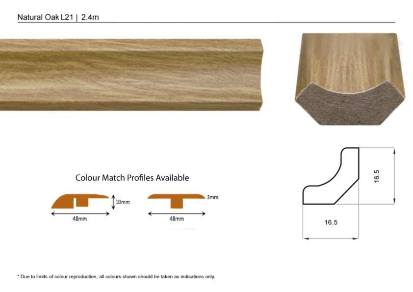 Uk flooring supplier clip top door thresholds and for Door gap filler
