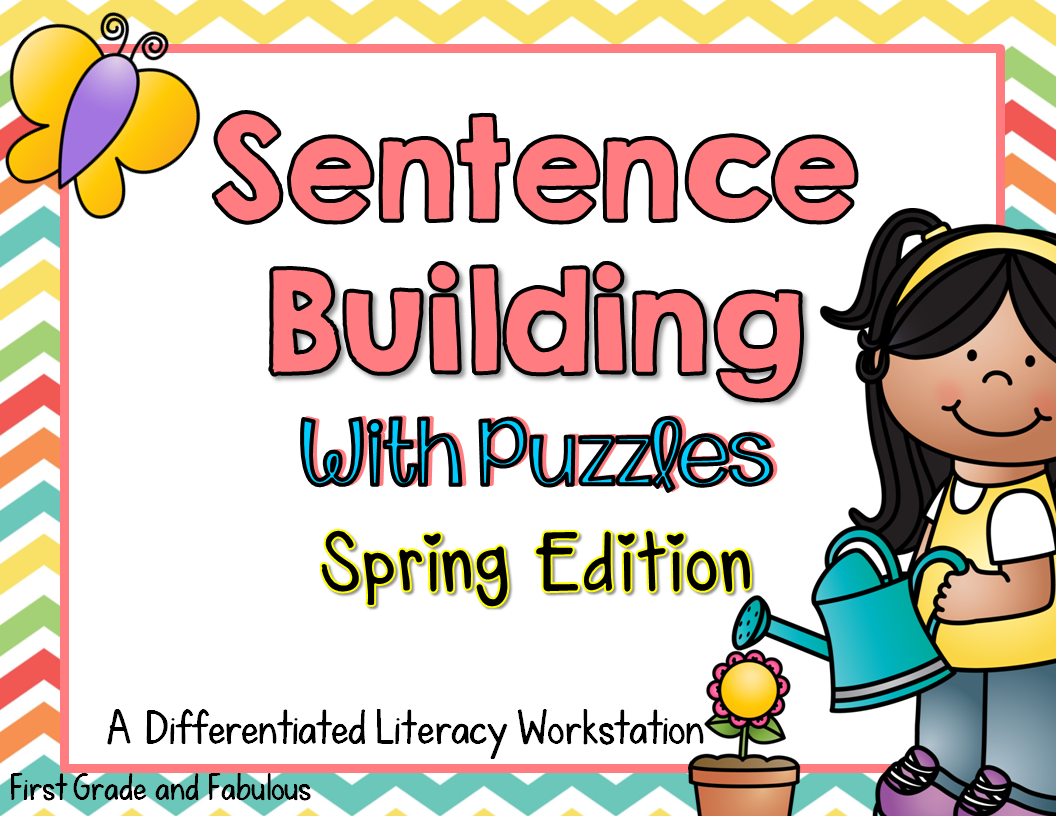 Sentence Building with Puzzles