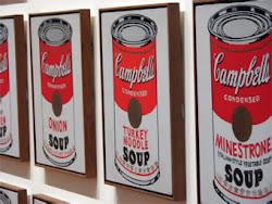 Andy Warhol- Latas de sopa Campbell