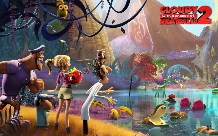 Cloudy With a Chance of Meatballs 2-Netflix