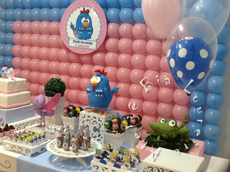 decoracao festa galinha pintadinha rosa: Bia Loureiro: Festa Galinha Pintadinha para meninas- Rosa e Azul