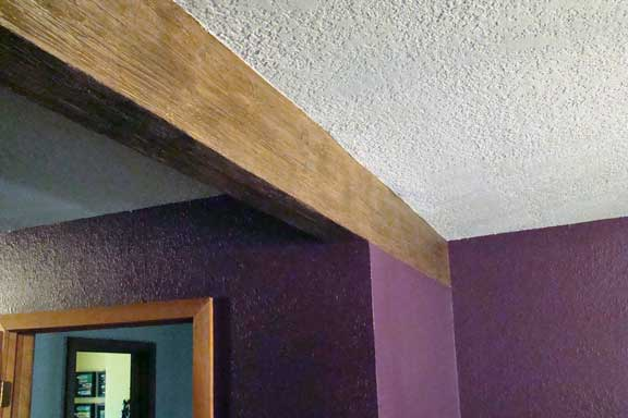 faux_bois decorative_painting faux_painting wood_beam