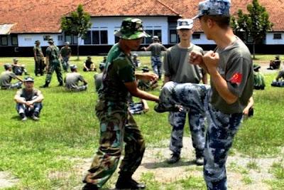 Bela Diri Militer. PROKIMAL ONLINE Kotabumi Lampung Utara