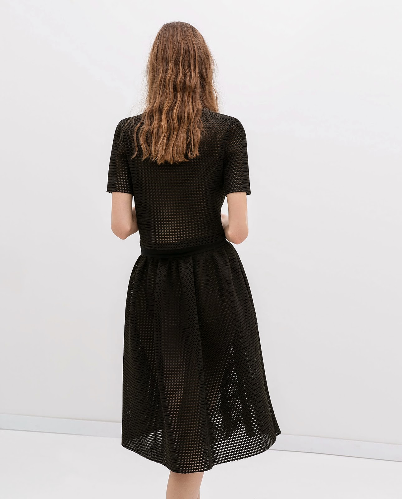 Falda studio Zara, Red fruncida, street style, skirt,