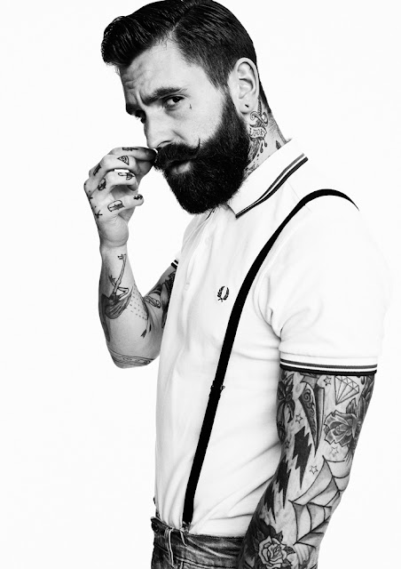 Ricki Hall portrait by Darren Black