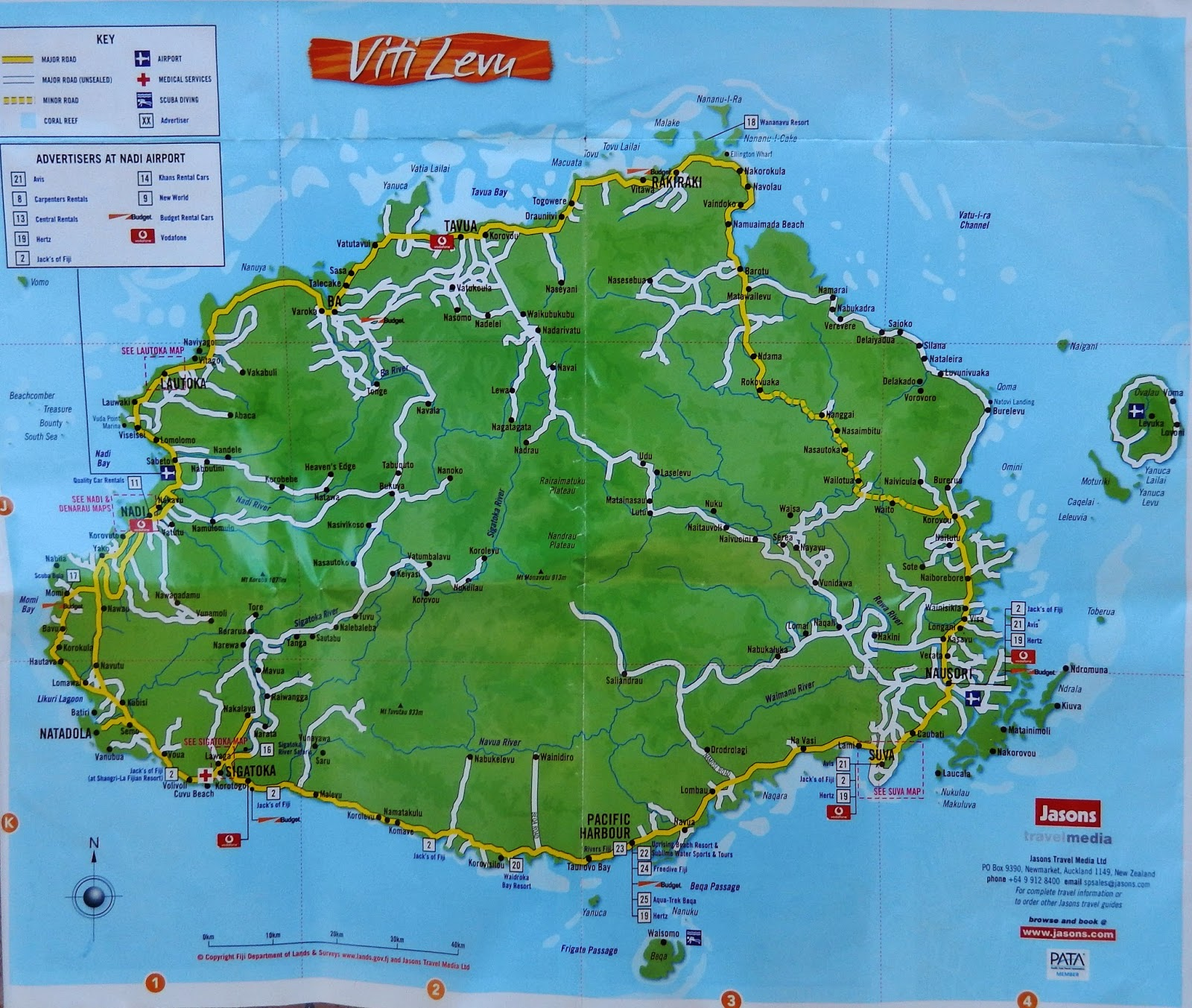 Bill and pats 2014 world cruise wednesday february 5th lautoka wednesday february 5th lautoka fiji map of viti levu the largest and most populated island of fiji gumiabroncs Gallery