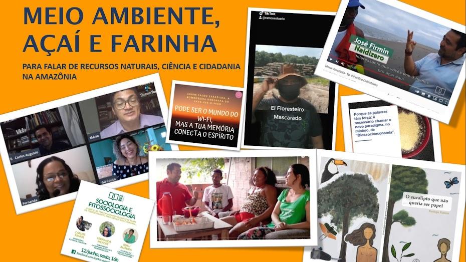 Meio Ambiente, Açaí e Farinha