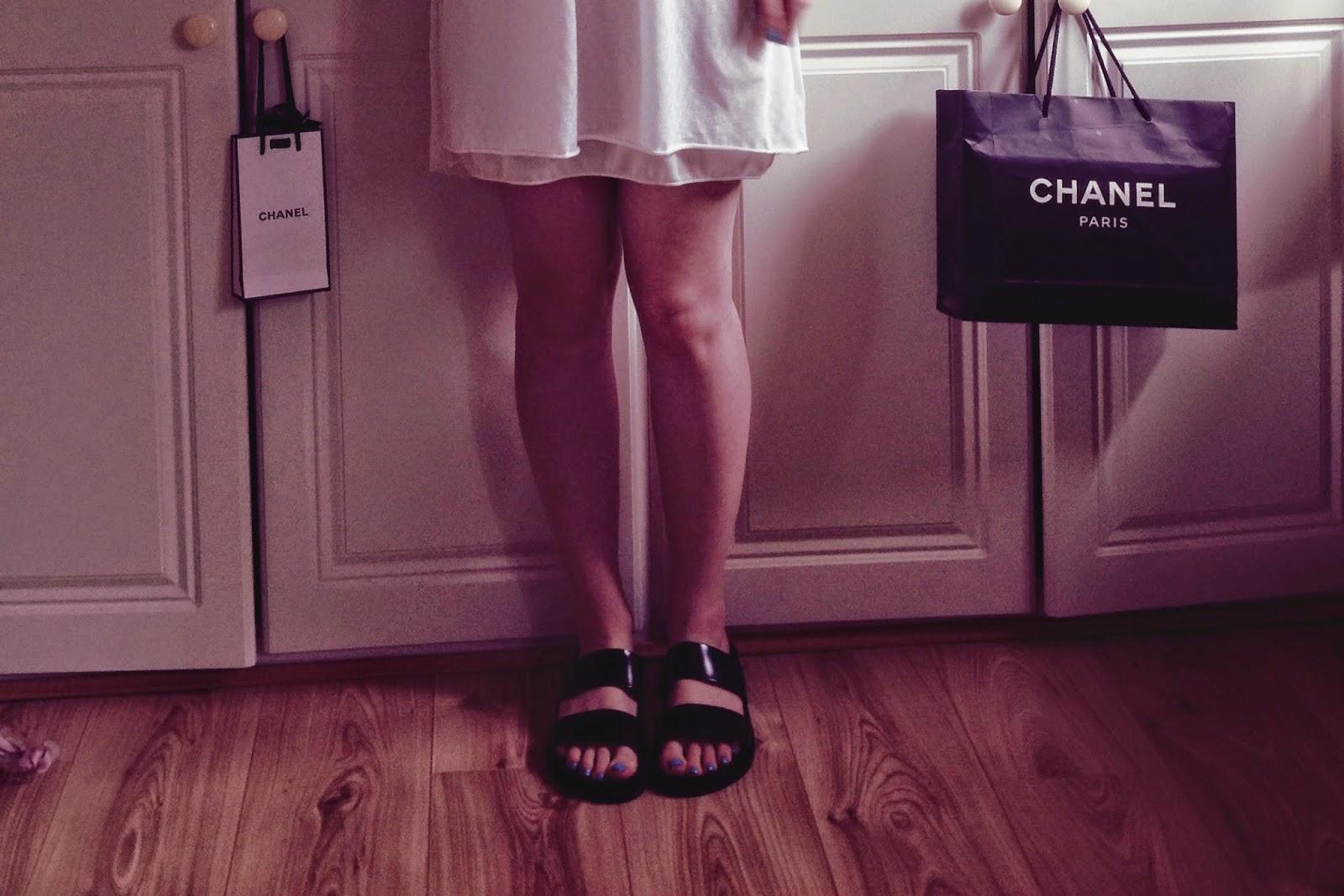 zara summer dress, zara sliders, fashion blog