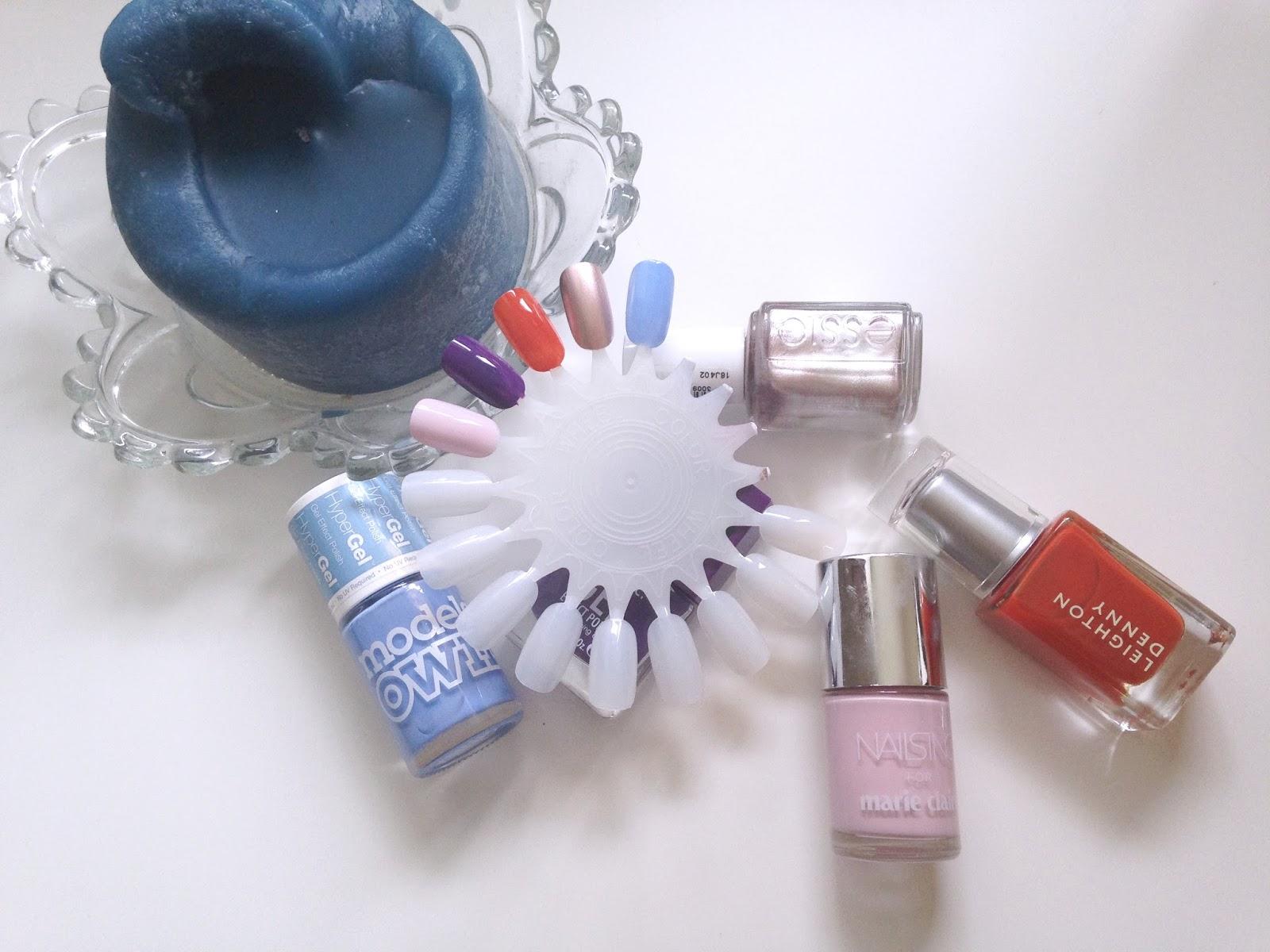 Nails Inc Fizz Models Own Cornflower Blue Nails Inc Bond Street Essie Penny Talk