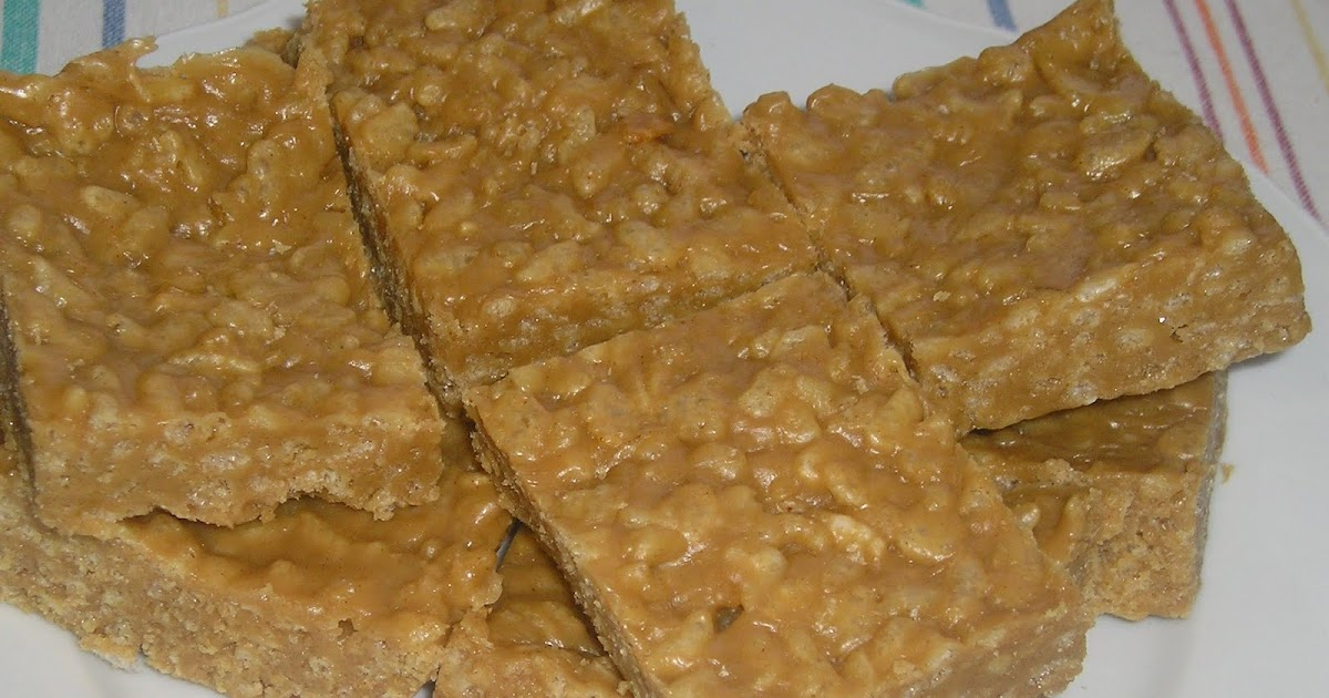 Peanut Butter Rice Krispy Treats ~ Edesia's Notebook