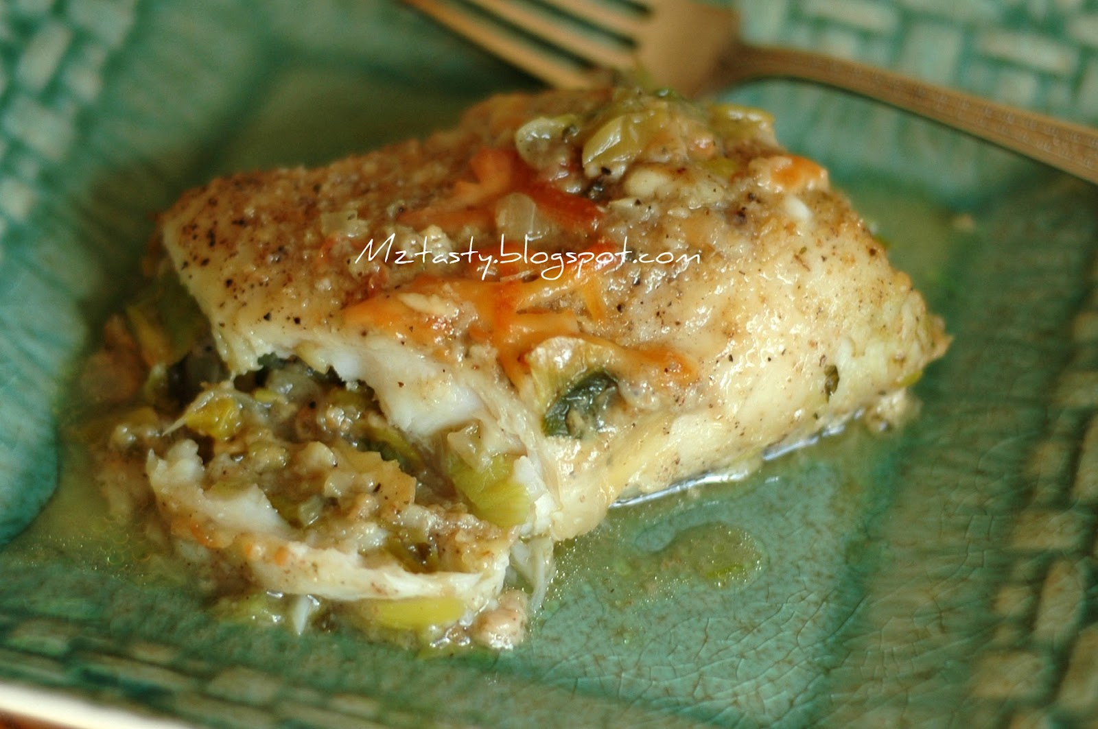 Mztasty 39 s kitchen savor the flavor parmesan baked fish for Whiting fish recipes baked