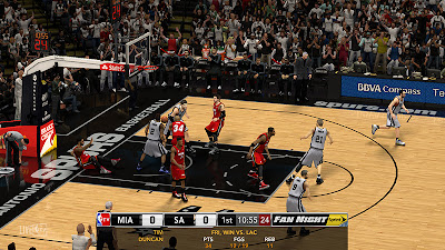 NBA 2K13 NBA TV Live Logo Watermark Mod