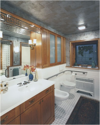 Arts and Crafts Bathroom Design 402 x 502