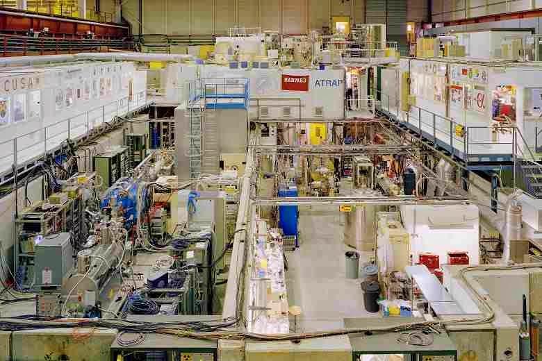 The AD (Antiproton Decelerator) hall at CERN