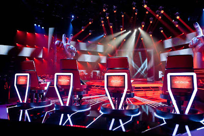 The Voice of the Philippines stage look