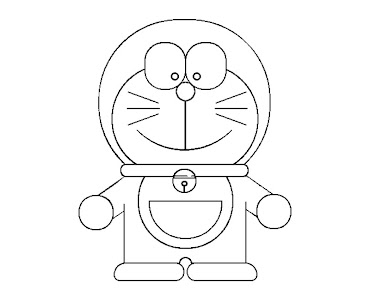 #7 Doraemon Coloring Page