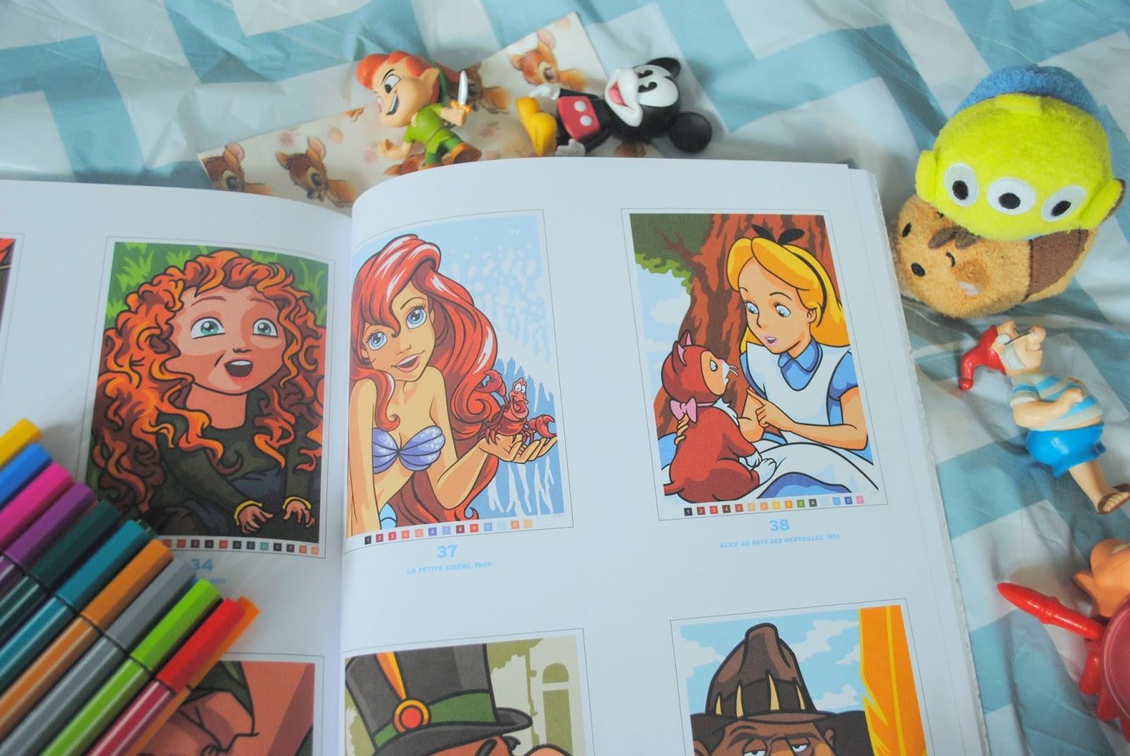 Les grands classiques disney colorier - Livre de coloriage disney ...