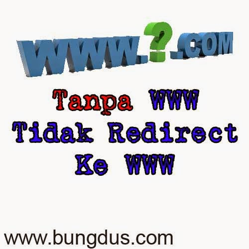 custom domain blogger tidak redirect www