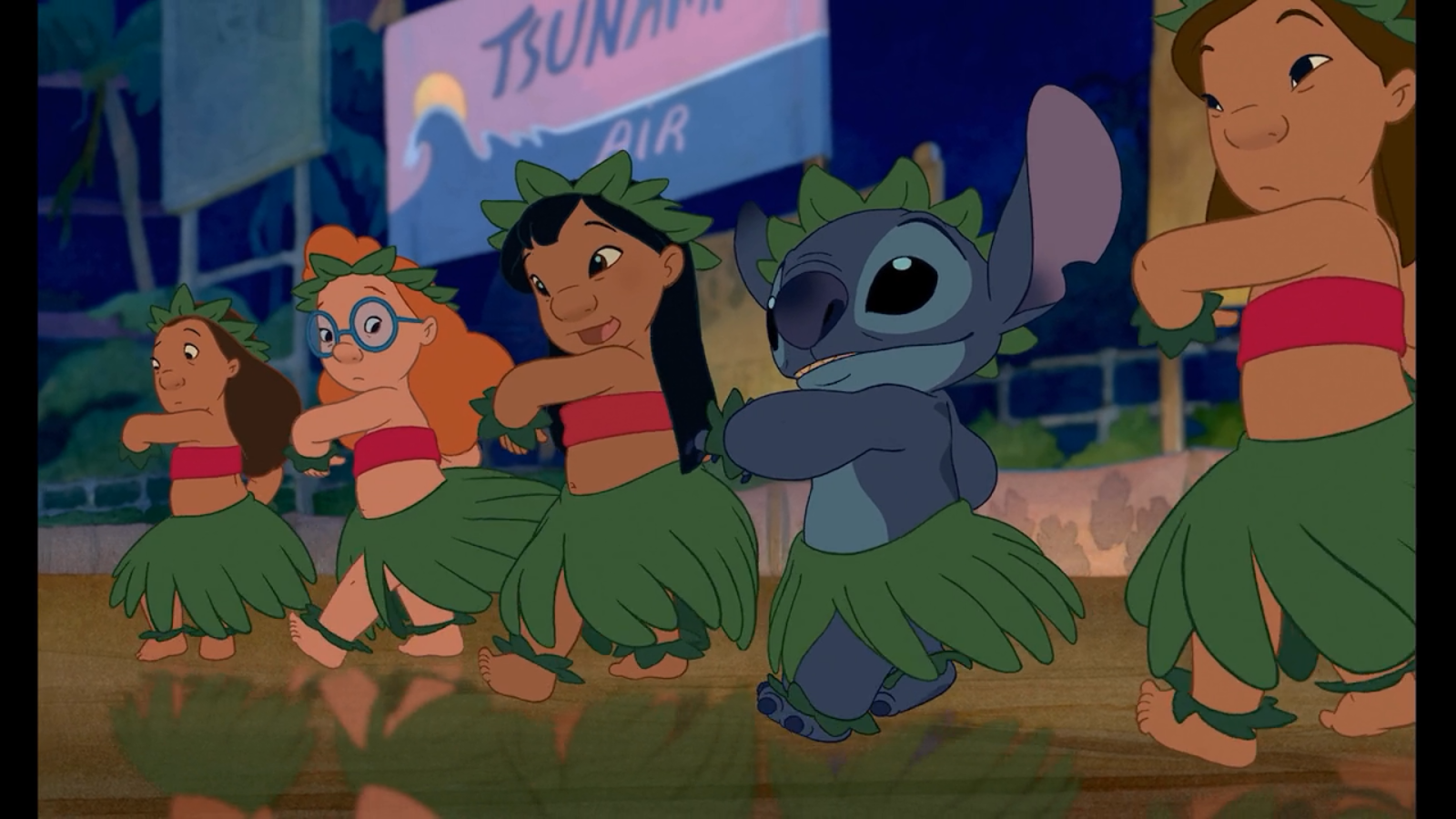 Lilo and Stitch dance