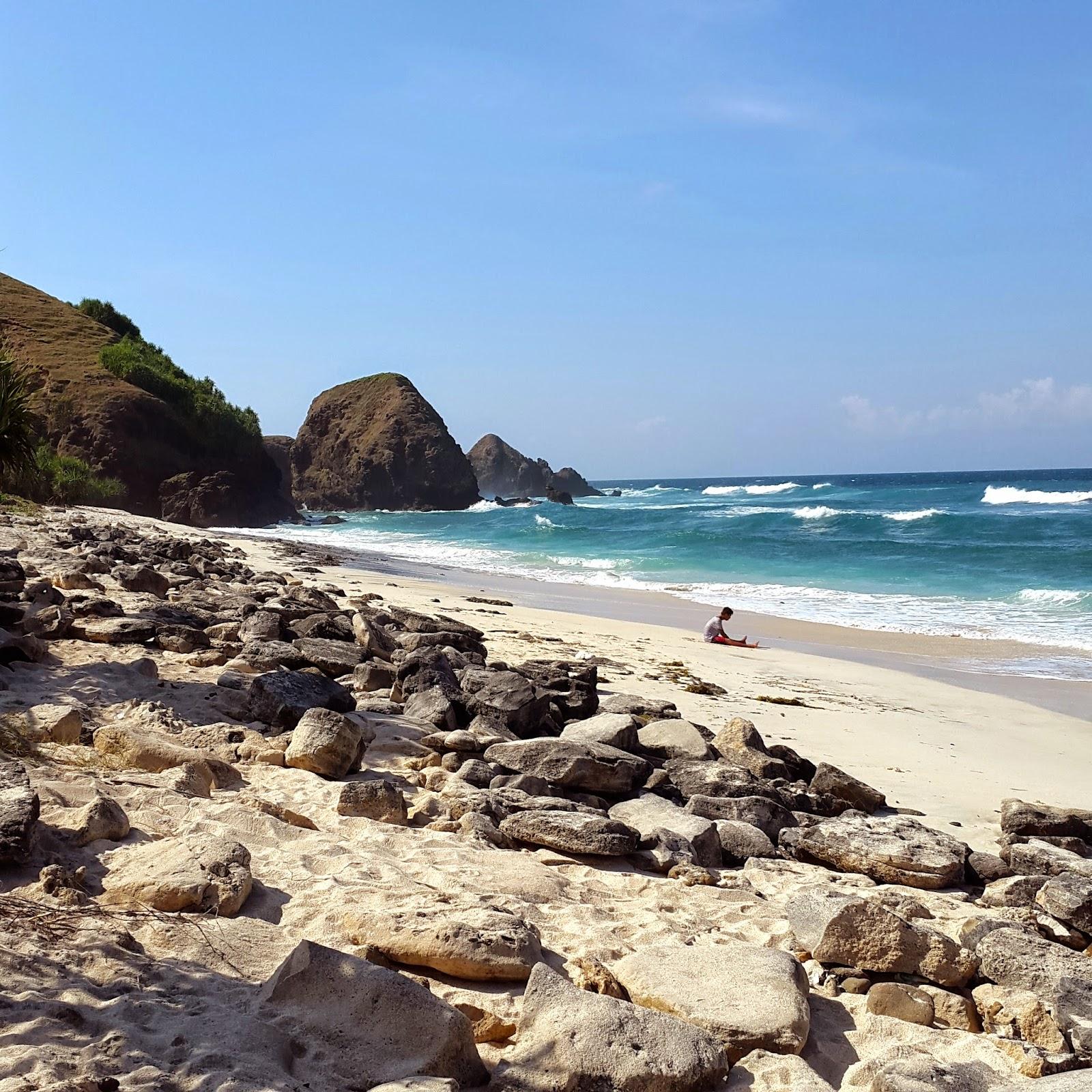 Mandalika Beach Lombok Island Indonesia