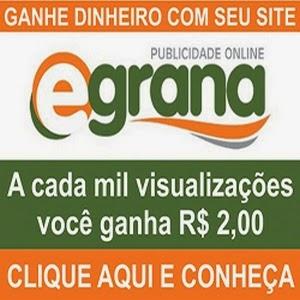 Afiliador Egrana - Ganhe Dinheiro com seu Site!