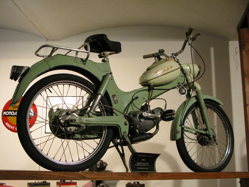 Attractive Slovenian Pride Is Represented At The Museum By A Number Of. Tomos  Machines. Some Road But Also A Collection Of 50cc Racers. This Is A Colibri  VS50 From ...
