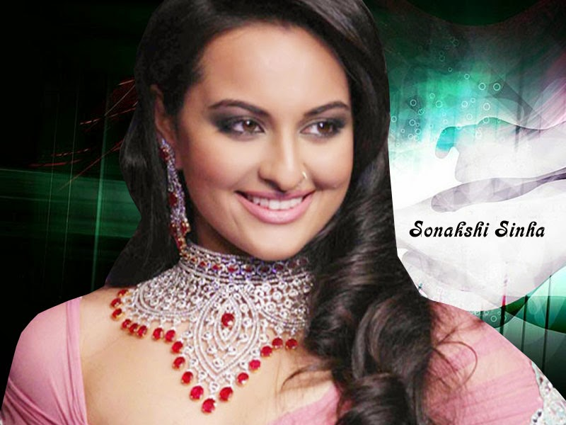Bollywood Indian Actress Sonakshi Sinha in Dress HD Wallpaper