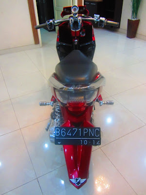 motor vario modifikasi, gambar modifikasi motor vario, modifikasi vario techno cbs