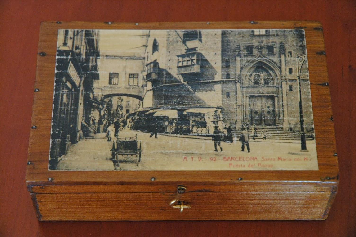 Mi las mobles caixes reciclades amb fotos antigues de - Mobles vintage barcelona ...