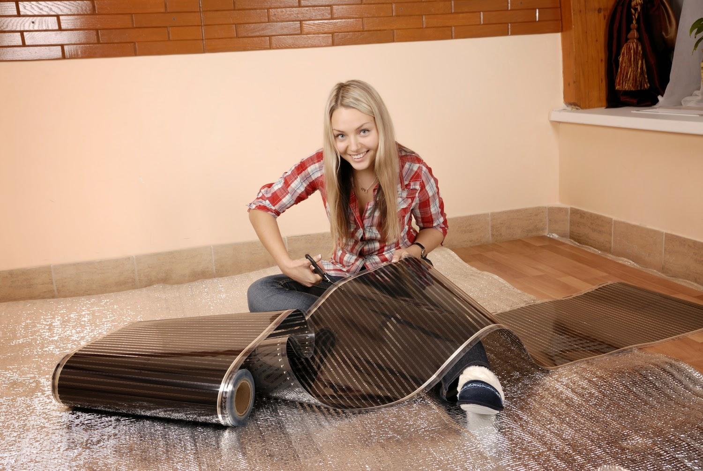 Laminaat vloerverwarmingkeuze voor elektrische infrarood