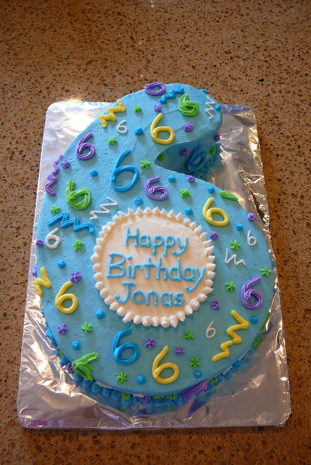 Rise And Bake Happy Birthday Cake