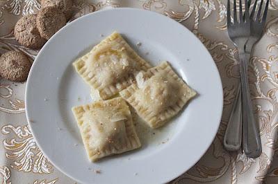 Ravioli z dynią i amaretti
