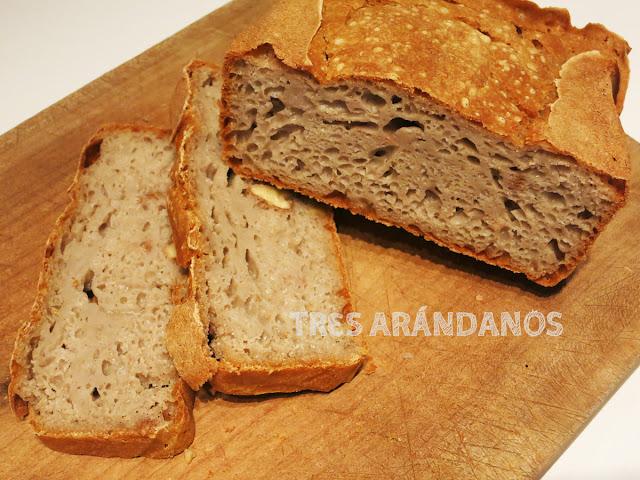 receta Pan de trigo sarraceno con nueces