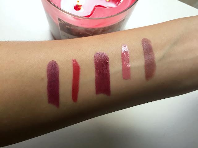 autumn winter lip products