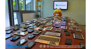 Android game developer Animoca keeps 400 Android device models on hand for QA testing.