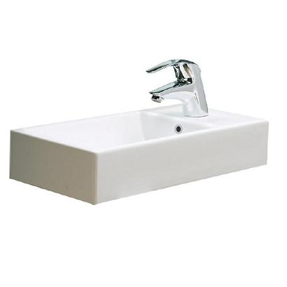 Modecor Basins: Argent Mode Small Wall Mounted Basin