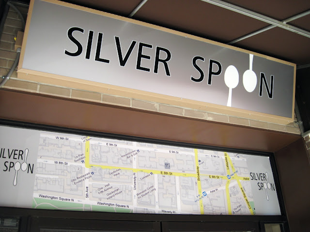 Another establishment in New York that is no more, Silver Spoon