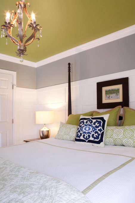 The olde farmhouse on windmill hill master bedroom my Master bedroom ceiling colors