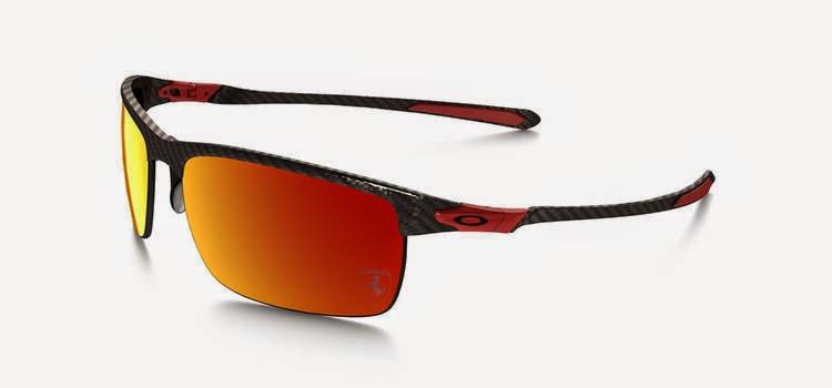 Special Edition Oakley Ferrari Polarized Carbon Blade Sunglasses as worn by Kimi Raikkonen