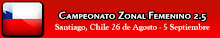 ZONAL 2.5 FEMENINO EN CHILE
