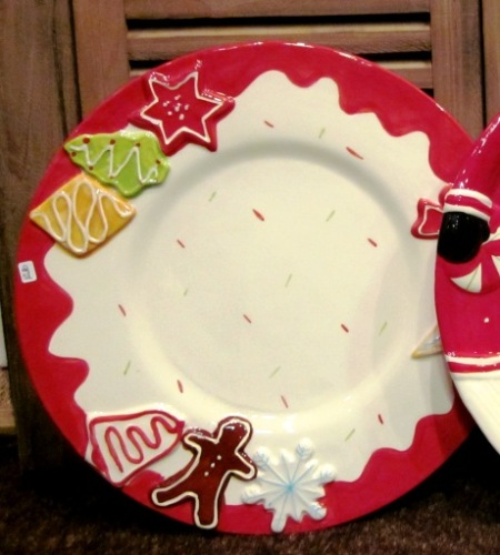 Bandeja plato Navidad turrones