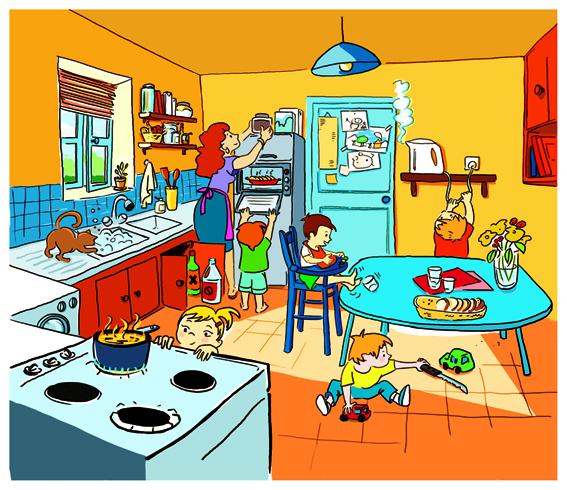 Jane marie besse for Accident domestique cuisine