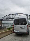 Parked Down by the River! (The Mississippi River!)
