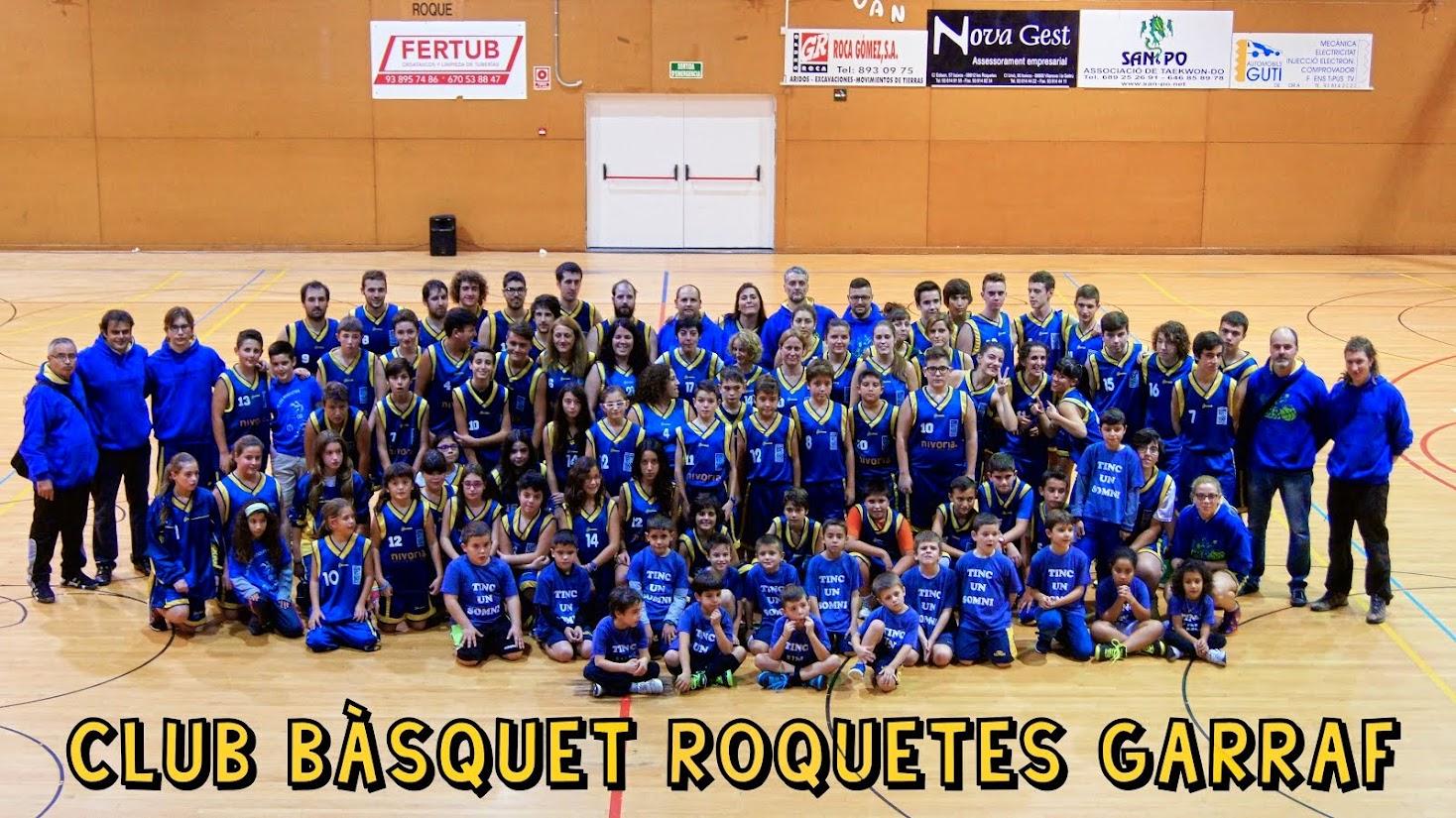 <center>CLUB BASQUET ROQUETES</center>