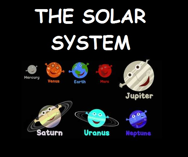 The solar system | My English class