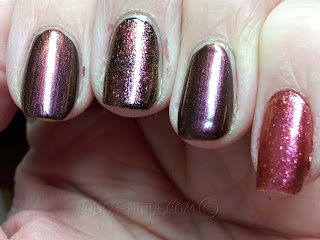 Pantone Universe + Sephora Violet Quartz and MAC Bad Fairy comparison